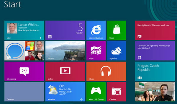 How to turn off Windows 8 Metro Live Tile