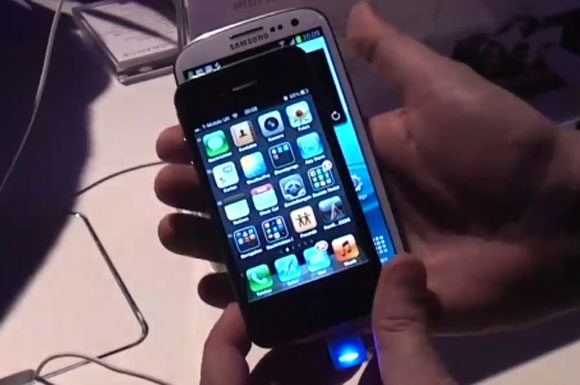 Galaxy S3 And Iphone4