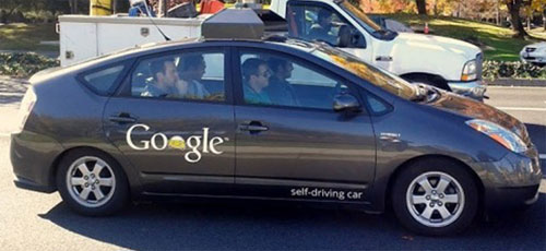 Google License for-Self-Driving Cars