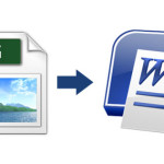 How to convert Scanned JPEG to Editable Word File ?