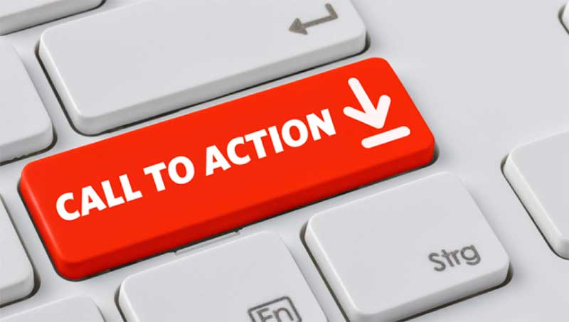 adding call to action buttons in the end of every blog post