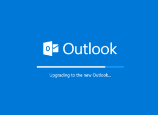 outlook upgrade